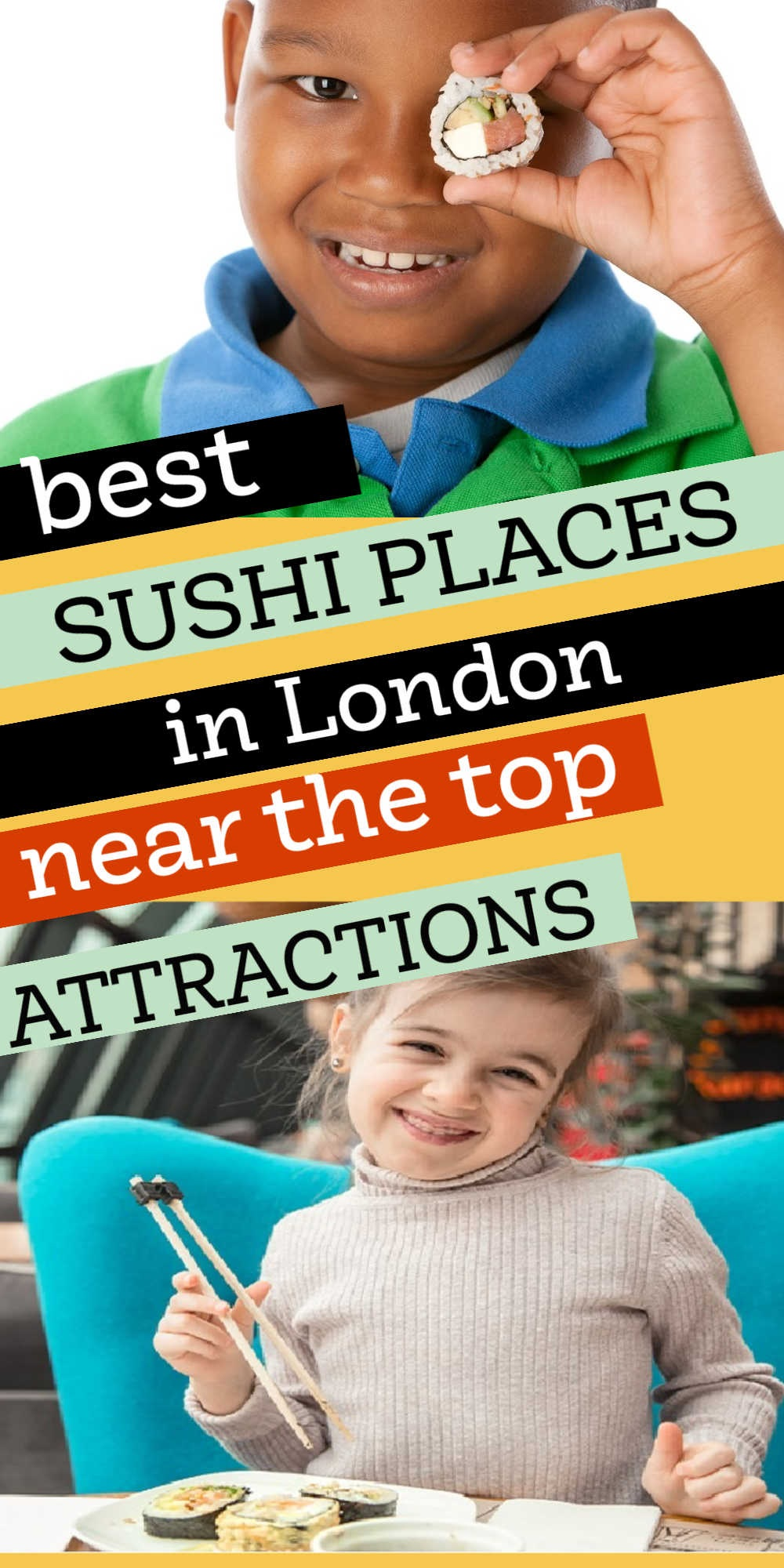 Good Sushi Places in London Near Top Attractions